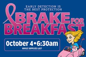 Brake for Breakfast infographic 2017