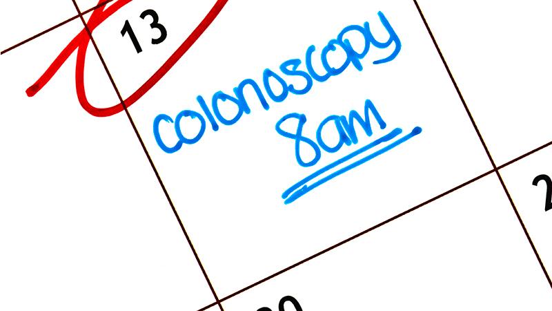 coloscopy on calendar